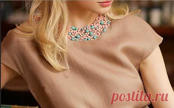 Ложный воротничок (DIY) / Платья Diy / Модный сайт о стильной переделке одежды и интерьера