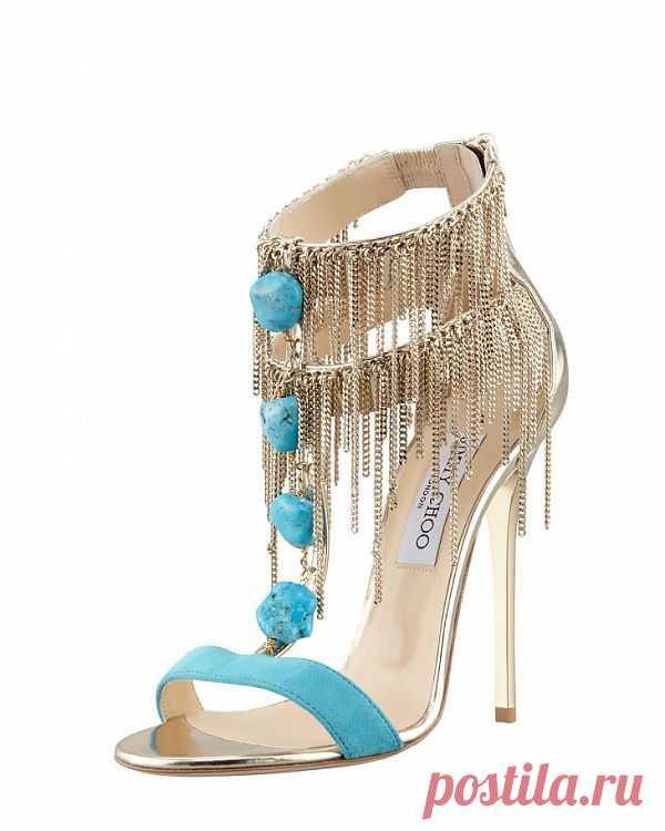 Босоножки Jimmy Choo / Обувь / Модный сайт о стильной переделке одежды и интерьера