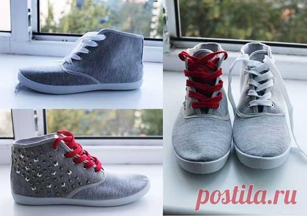 Просто, дешево, а главное - КРУТО! / Обувь / Модный сайт о стильной переделке одежды и интерьера