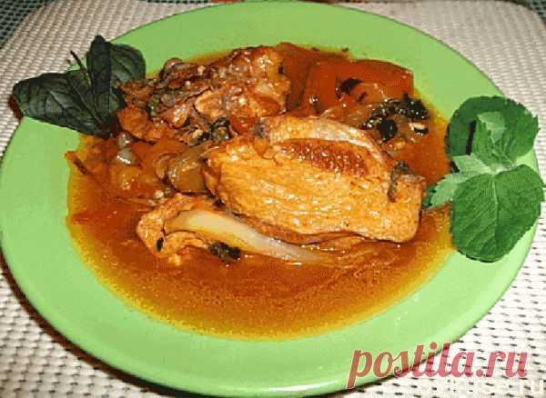 Обалденное рагу из курицы – рестораны отдыхают!) - Простые рецепты Овкусе.ру