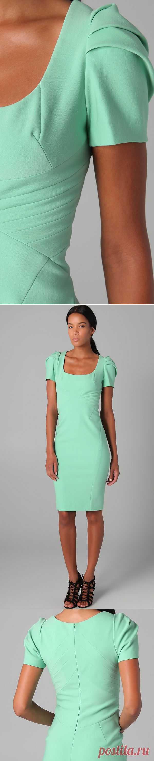 Потрясающего кроя платье Zac Posen / Вещь / Модный сайт о стильной переделке одежды и интерьера