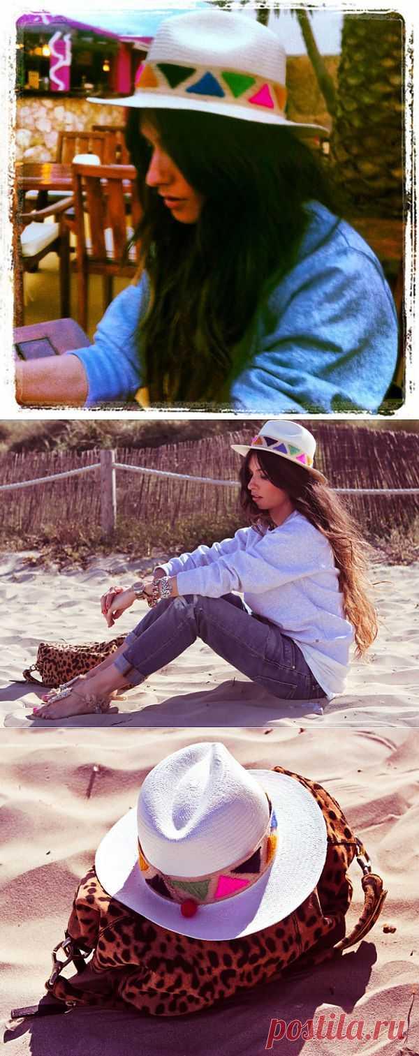 Sombrero de paja / Головные уборы / Модный сайт о стильной переделке одежды и интерьера