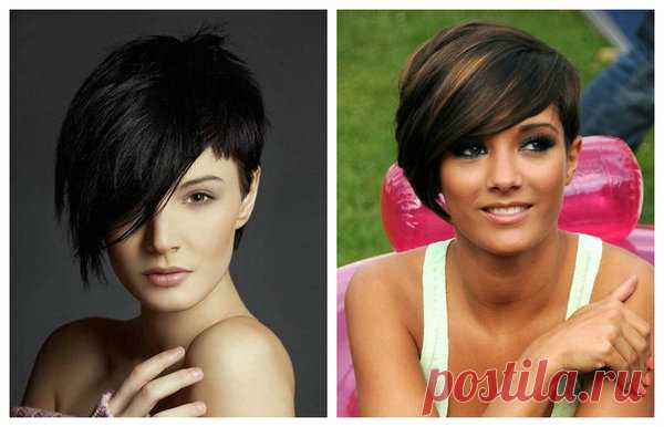 Los peinados más a la moda al cabello corto y medio para las muchachas y las mujeres por 40: la revista completa, más 180 fotos | el Maletín de los consejos | Yandeks Dzen