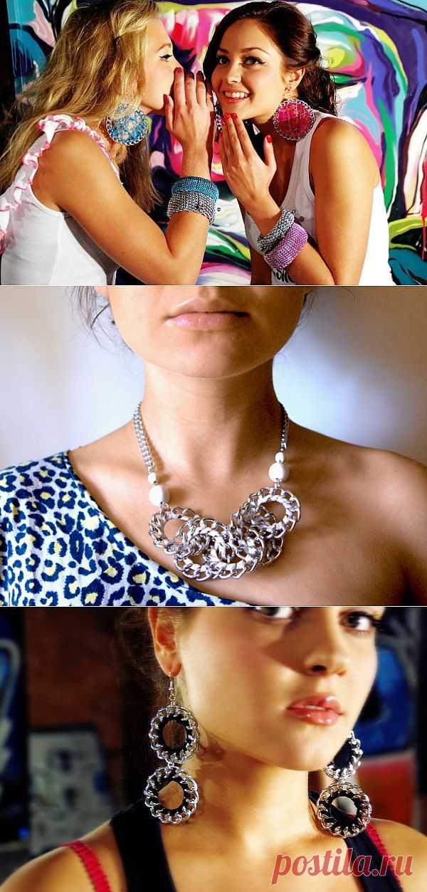 Украшения из цепей (мастер-класс) (люблю PHILIPS!) / Цепочки / Модный сайт о стильной переделке одежды и интерьера