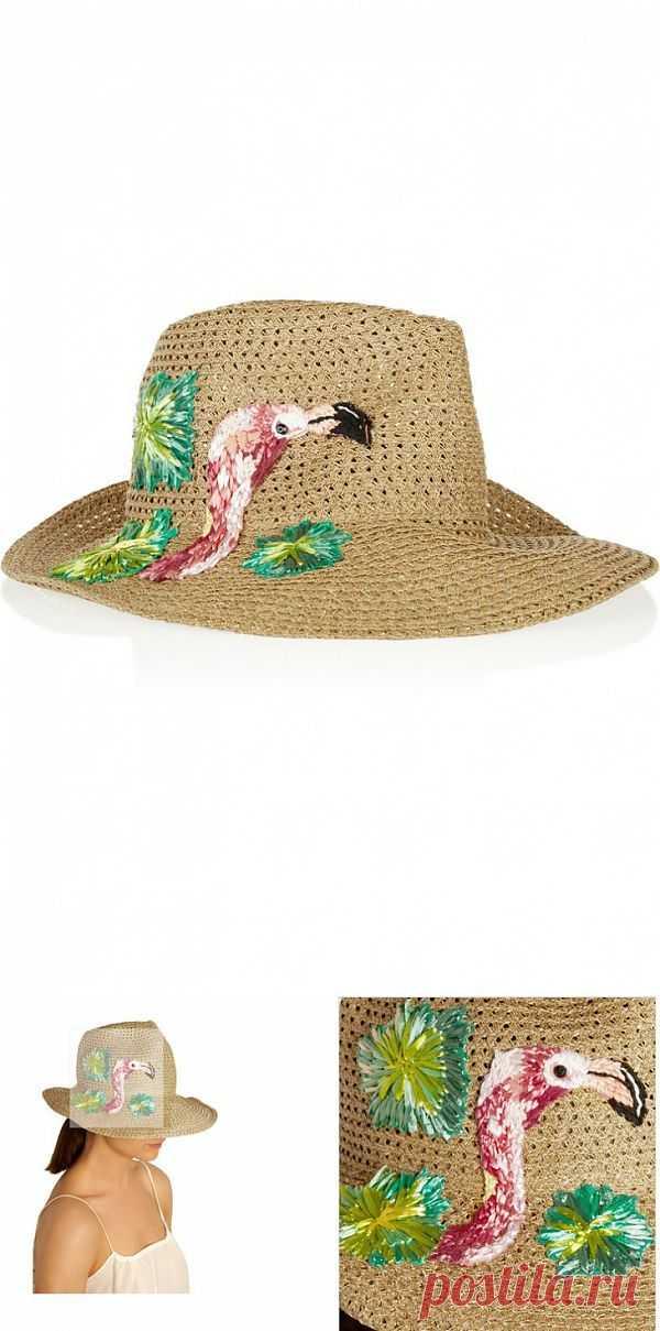 Вышитая шляпа Евгения Ким / Головные уборы / Модный сайт о стильной переделке одежды и интерьера