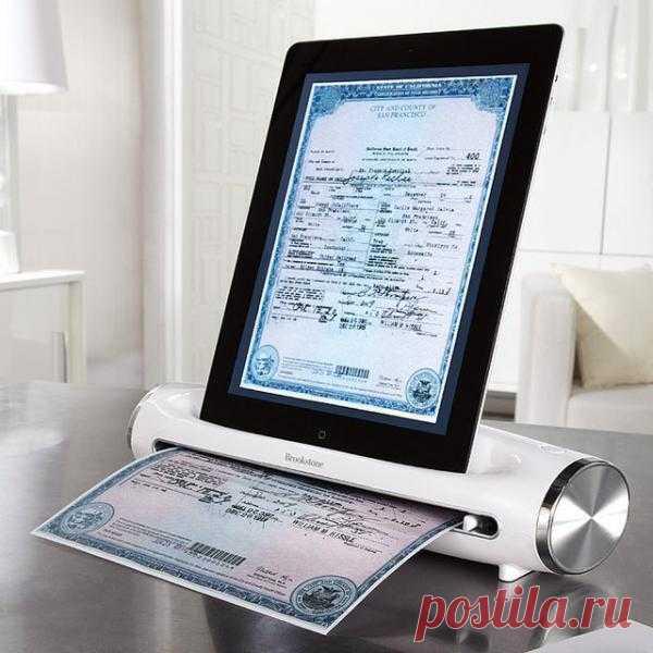 iConvert - Сканер для iPad ($100 на фенси). Как вы думаете, полезная вещь?