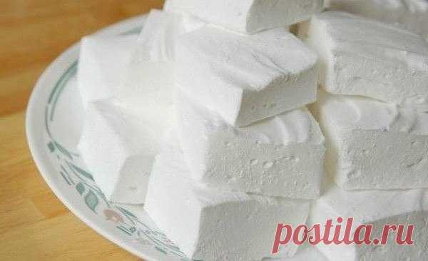 Как приготовить домашний зефир - рецепт, ингредиенты и фотографии