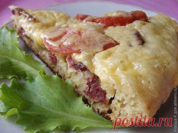 Пицца на сковороде / Рецепты с фото