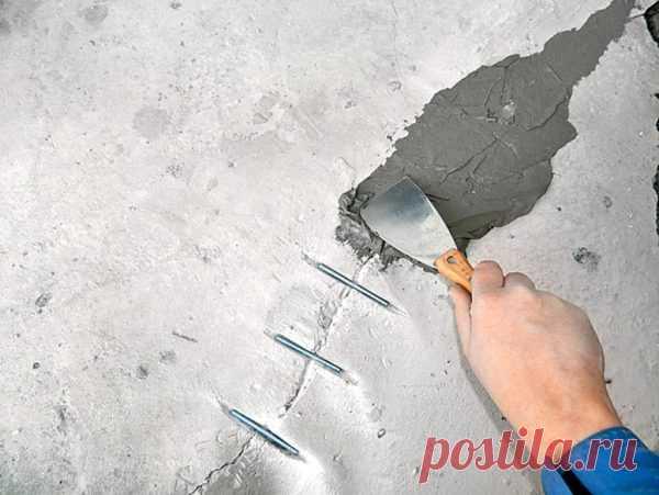 Чем лучше замазать трещины в несущих и межкомнатных стенах из блоков: как убрать