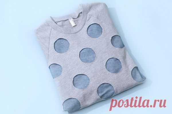 Горошек из фатина (Diy) / Худи / Модный сайт о стильной переделке одежды и интерьера