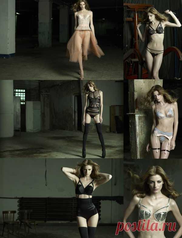 Нежнее белье в винтажном стиле от  I.D. Sarrieri