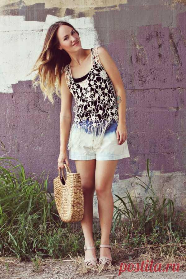 Переделка шорт / Белизна / Модный сайт о стильной переделке одежды и интерьера