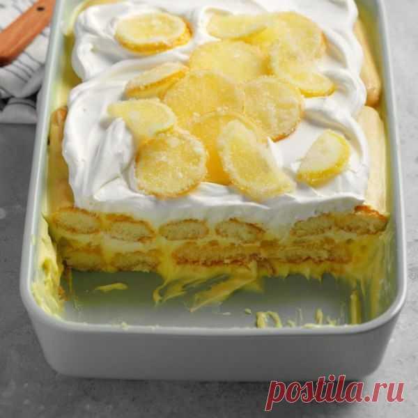 👌 Восхитительный лимонный тирамису - пальчики оближешь, рецепты с фото Сегодня мы приготовим не просто тирамису, аневероятно вкусный лимонный десерт. Однако добавим мы не сами лимоны, а ликёр лимончелло и вкусный крем — лимонный курд. Эти продукты мо...
