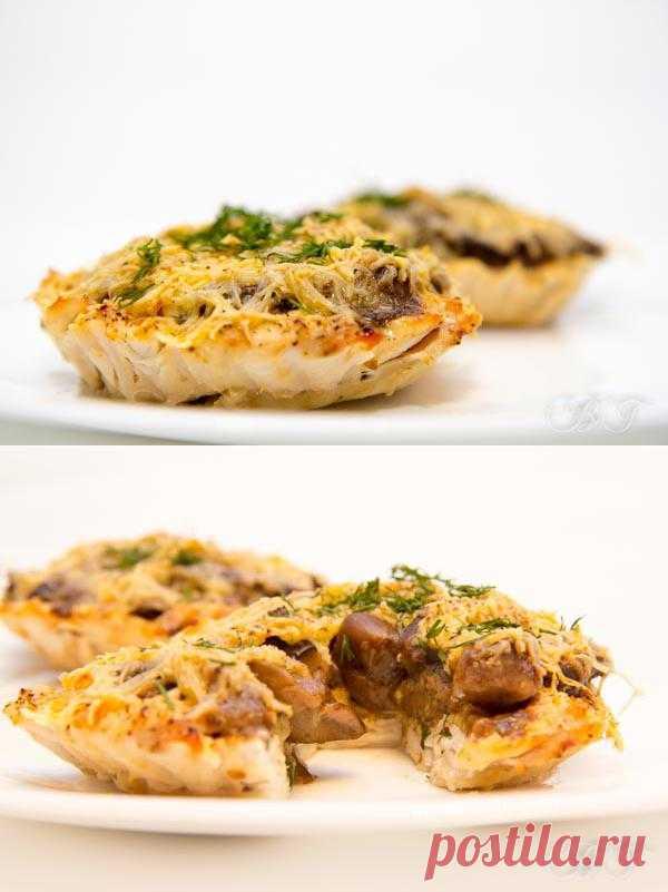 """Мясные блюда: Тарталетки """"А-ля кокиль"""""""