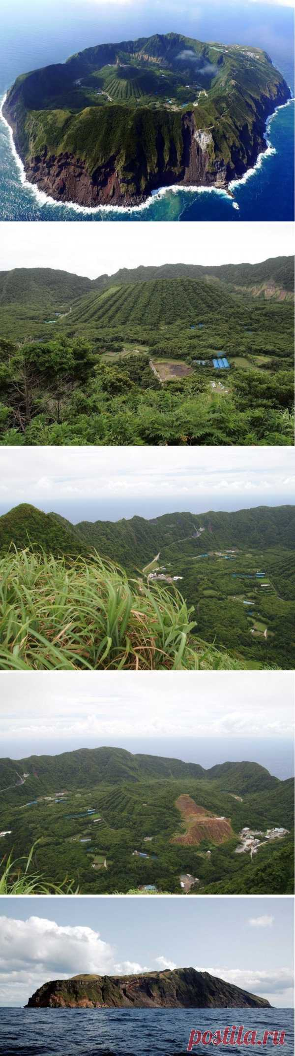 Жизнь внутри вулкана! Обитаемый остров Огашима, Япония
