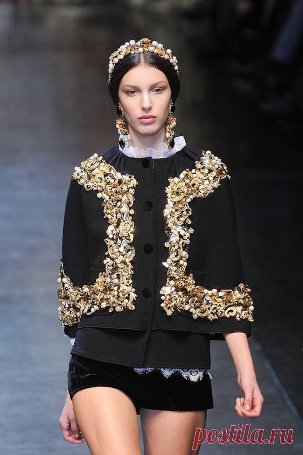 Роскошный стиль barocco в одежде
