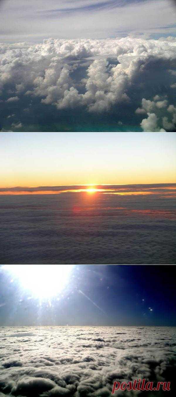 Облака - вид сверху