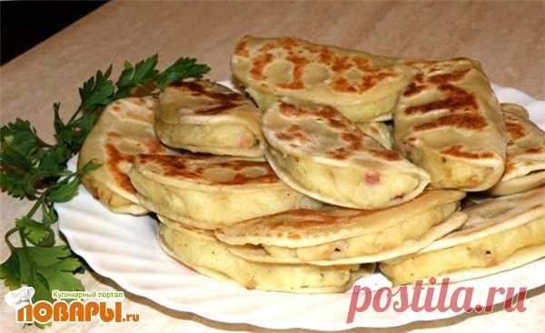 Ленивые картофельные пирожки
