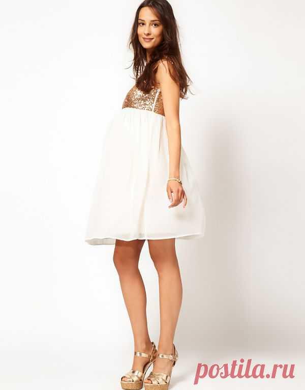 Нарядные платья для беременных / Будущие мамы / Модный сайт о стильной переделке одежды и интерьера