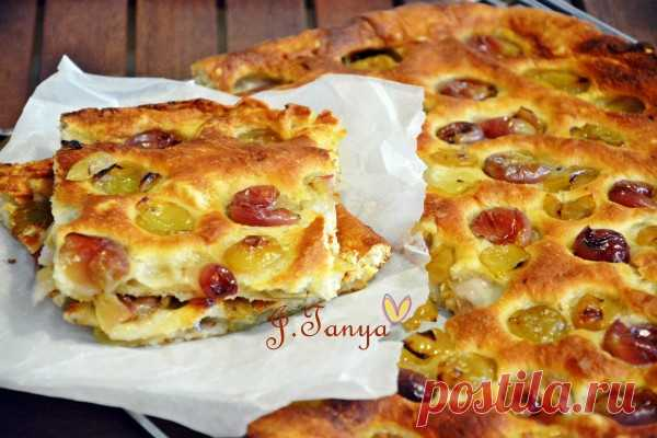 Тосканский пирог с виноградом - Sweet & Spicy — LiveJournal