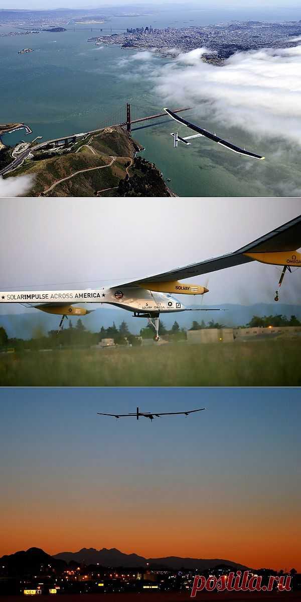 Solar Impulse завершил свой исторический полет над США : НОВОСТИ В ФОТОГРАФИЯХ