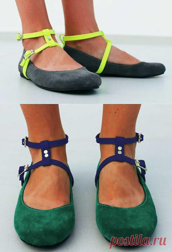 Ремешки для балеток / Обувь / Модный сайт о стильной переделке одежды и интерьера