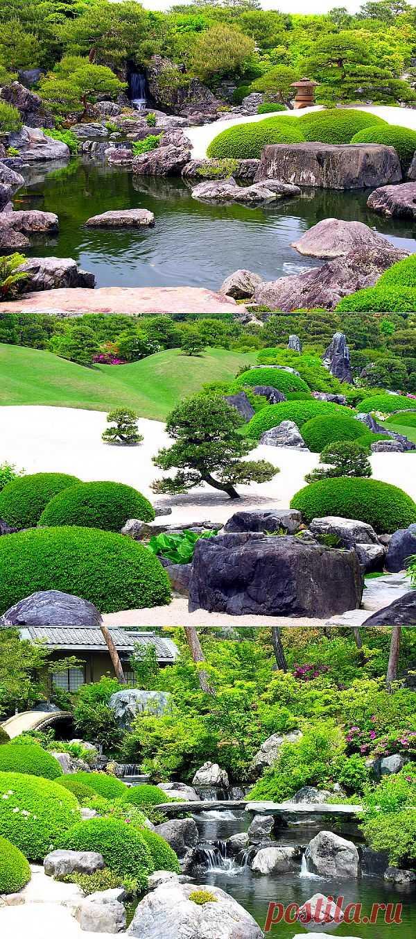 Самый красивый сад Японии