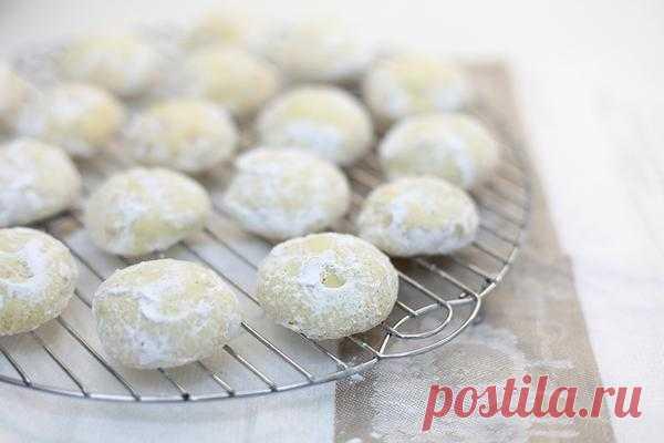 Чадейка - Снежное песочное печенье.