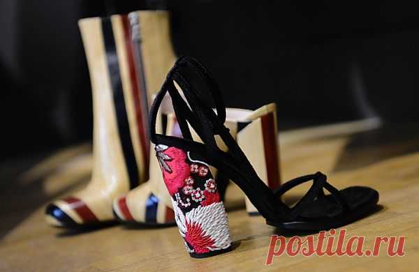 Вышитый каблук / Обувь / Модный сайт о стильной переделке одежды и интерьера