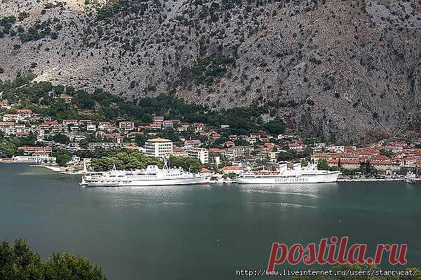 Kotor, old town and port