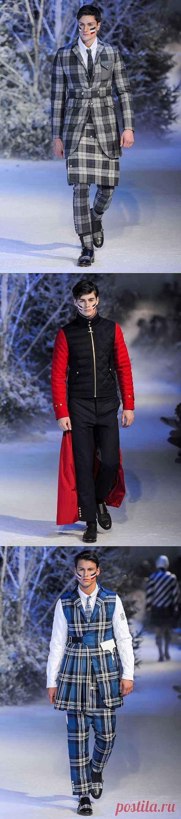 Коллекция Moncler Gamme Bleu (трафик) / Мужская мода / Модный сайт о стильной переделке одежды и интерьера