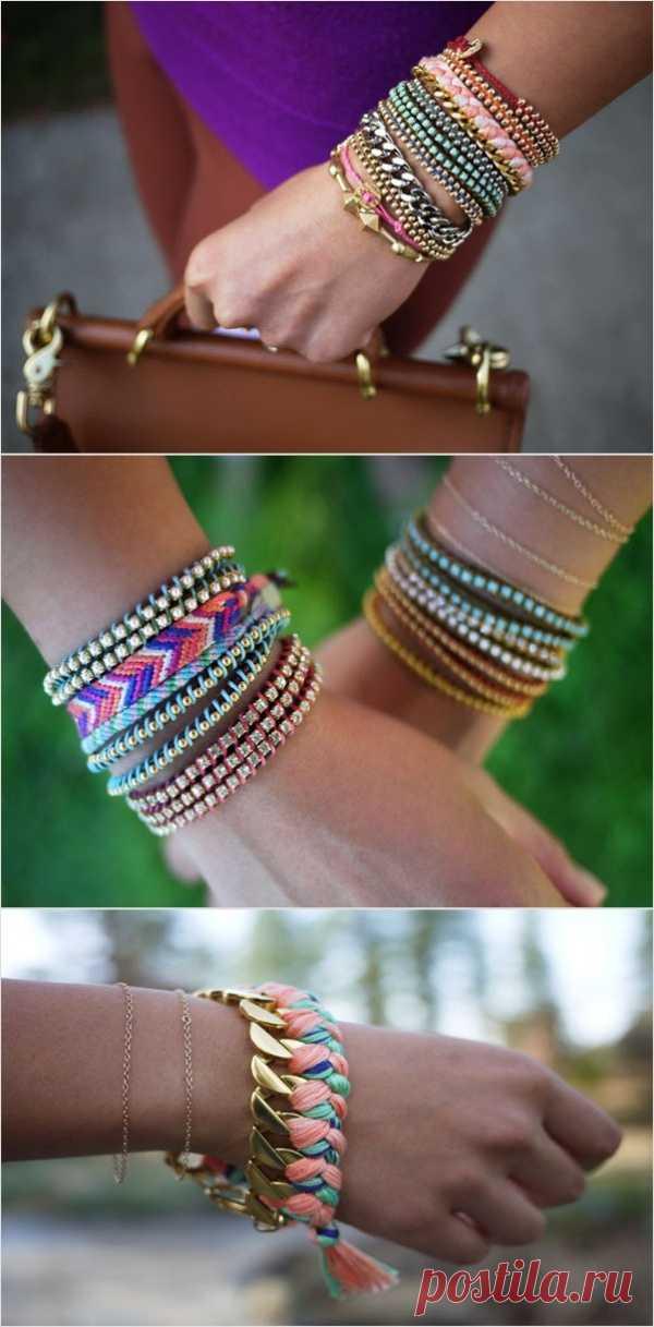 Оригинальные браслеты: инструкция по плетению. Инструкция по ссылке (нажмите на картинку)