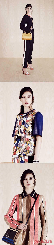 Fendi Resort 2014 (лукбук) / Лукбуки / Модный сайт о стильной переделке одежды и интерьера