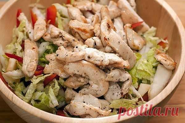 Салат с куриной грудкой. Комментарии