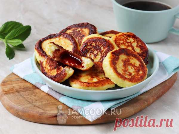 Сырники с мармеладом — рецепт с фото Творожные сырники с