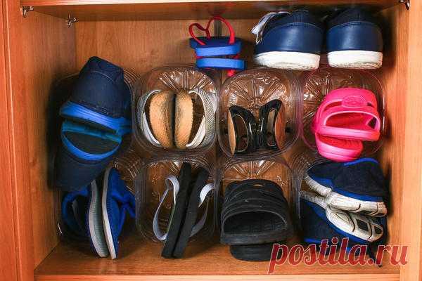 Идеальный порядок: практичные идеи размещения и хранения обуви