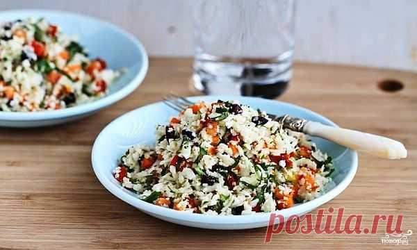 Легкий салат на ужин - пошаговый кулинарный рецепт на Повар.ру