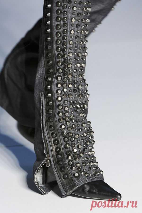 Фрагмент показа Diezel / Джинсы / Модный сайт о стильной переделке одежды и интерьера
