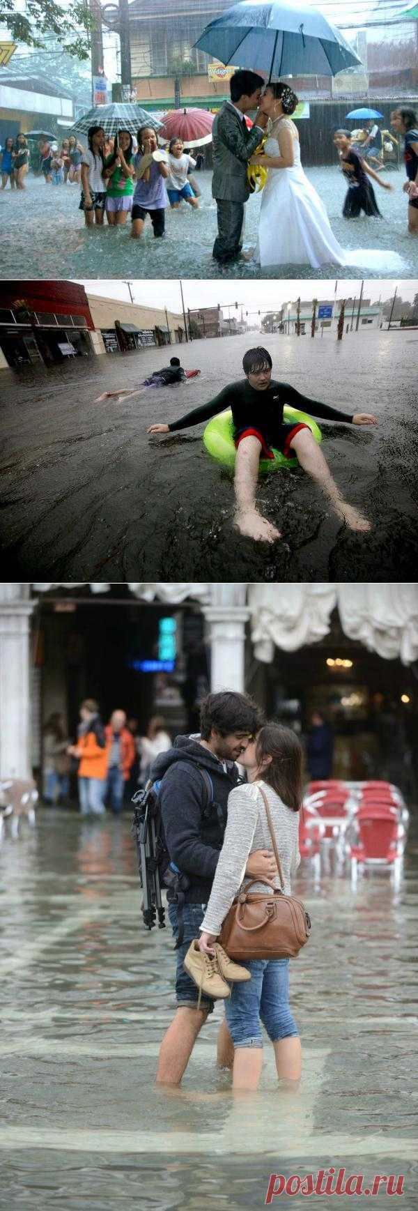 Позитивные моменты наводнений