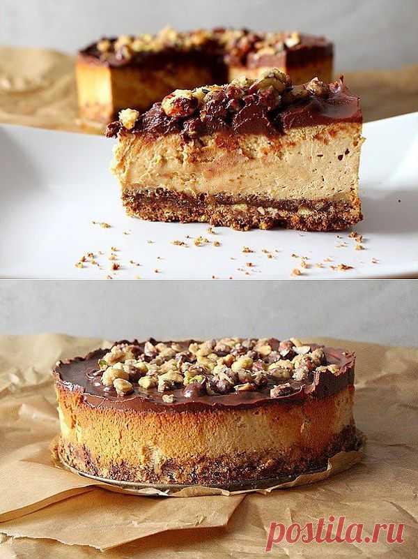 Ореховый чизкейк кулинарный рецепт с фото от Paragrams