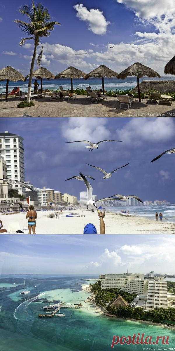 Канкун в синем   В отпуск хочу!