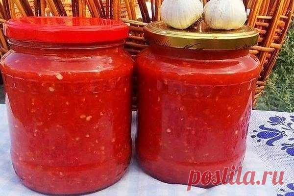 Аджика из помидор на зиму — рецепт без варки