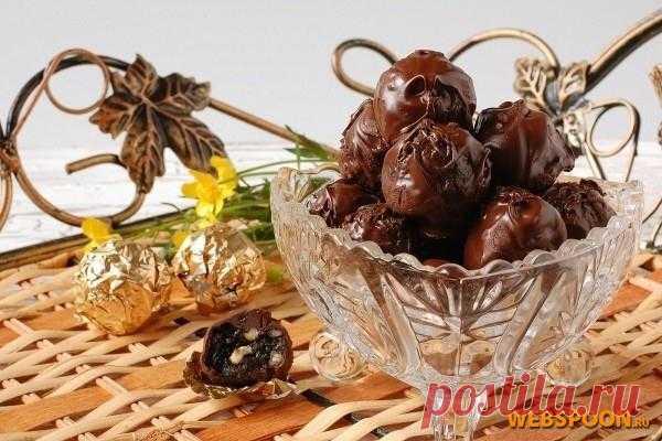 Чернослив в шоколаде рецепт с фото на Webspoon.ru