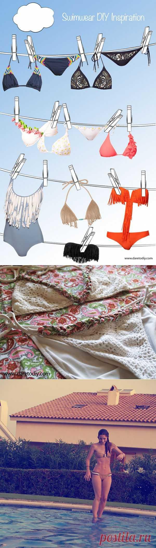 Декор купальников (DIY) / Купальники / Модный сайт о стильной переделке одежды и интерьера
