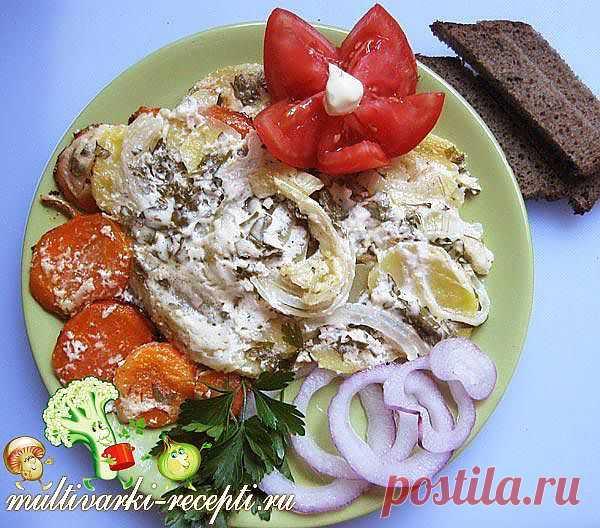 Картофель запеченный в мультиварке: рецепт приготовления