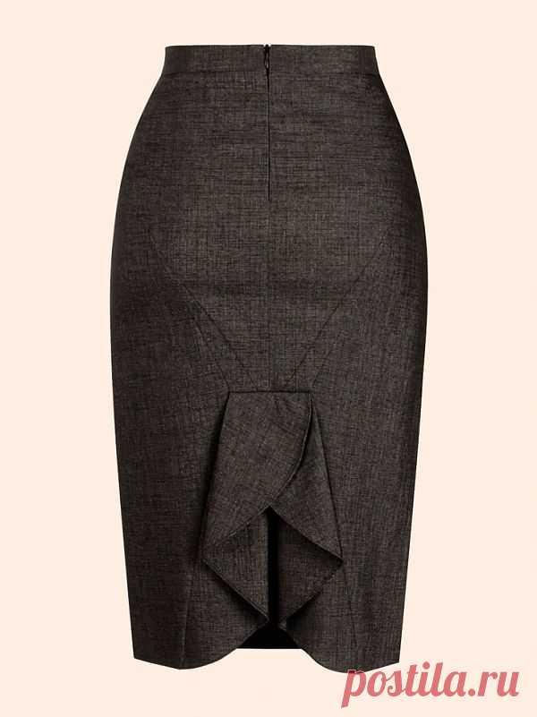 Красивая шлица / Детали / Модный сайт о стильной переделке одежды и интерьера