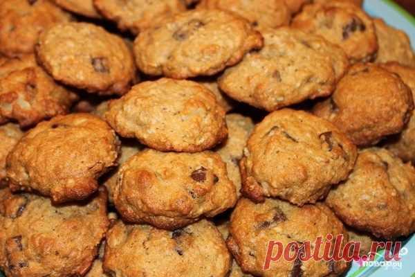 Печенье с бананом - пошаговый рецепт с фото на Повар.ру