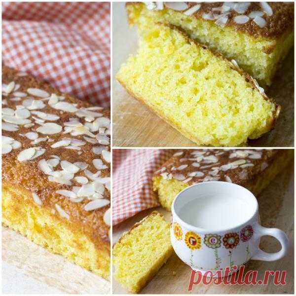 В желтом цвете: Мандариновый кекс