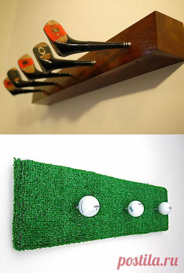 Две вешалки в гольф клуб / Мебель / Модный сайт о стильной переделке одежды и интерьера