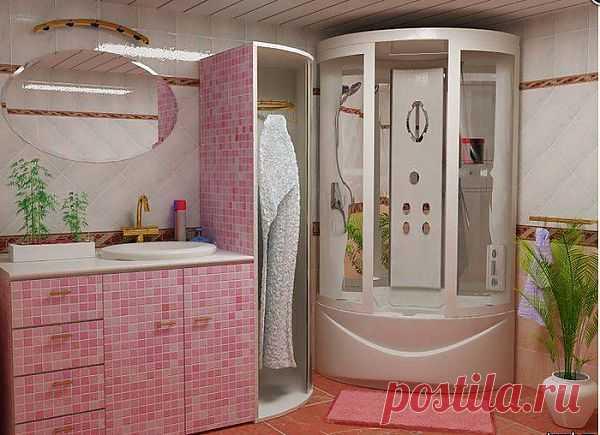 Идеи дизайна ванной комнаты..